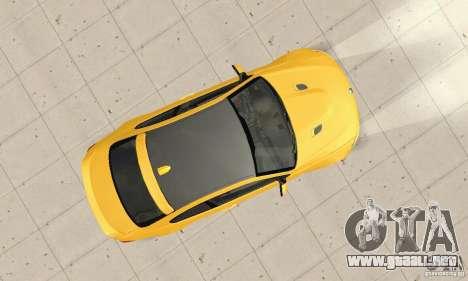 BMW M3 2008 Hamann v1.2 para visión interna GTA San Andreas