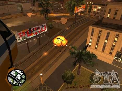 Disparos desde un helicóptero para GTA San Andreas tercera pantalla