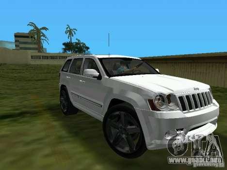 Jeep Grand Cherokee SRT8 TT Black Revel para GTA Vice City