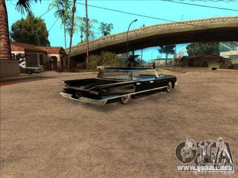 Buick Santiago para GTA San Andreas vista hacia atrás