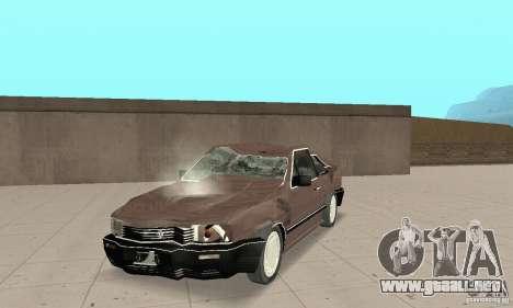 Volkswagen Santana GLS 1989 para GTA San Andreas left