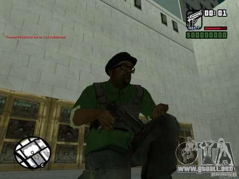 Black Weapon by ForT para GTA San Andreas