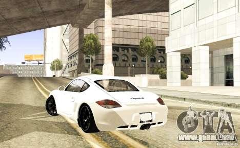Porsche Cayman R para la visión correcta GTA San Andreas