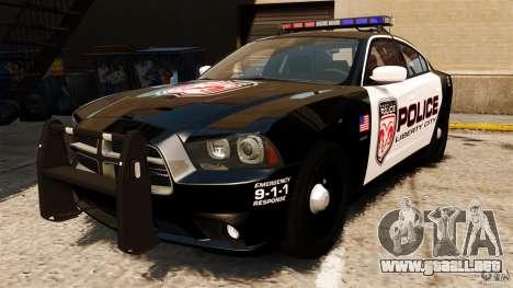 Dodge Charger RT Max Police 2011 [ELS] para GTA 4
