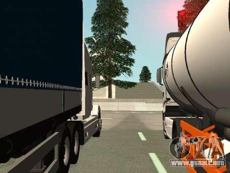 Volvo VNL para la vista superior GTA San Andreas