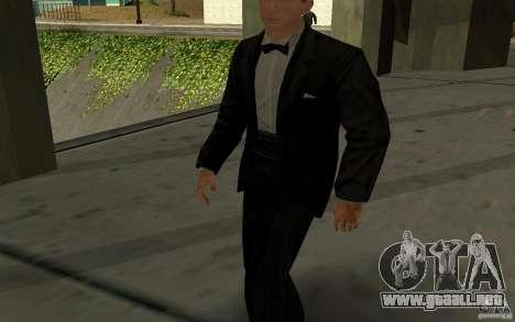 Agente 007 para GTA San Andreas segunda pantalla