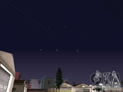 Configuración de Timecyc para GTA San Andreas quinta pantalla