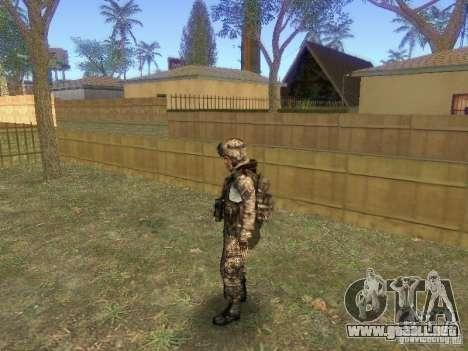 Blackburn de BF3 para GTA San Andreas tercera pantalla