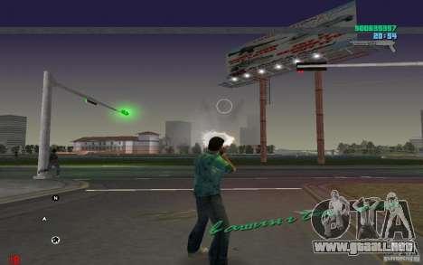 Munición infinita para GTA Vice City segunda pantalla