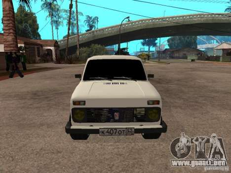 VAZ 2131 para GTA San Andreas left