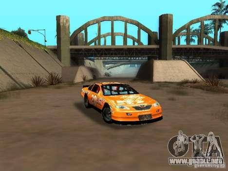 Toyota Camry Nascar Edition para visión interna GTA San Andreas