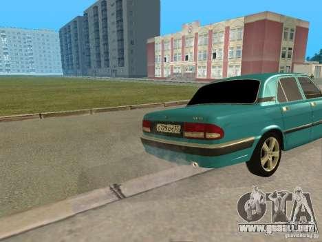 Volga GAZ 3110 para la visión correcta GTA San Andreas