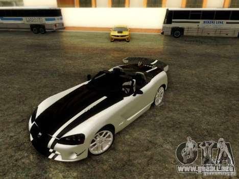 Dodge Viper SRT-10 Roadster ACR 2004 para visión interna GTA San Andreas