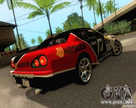 Need for Speed Elegy para la vista superior GTA San Andreas