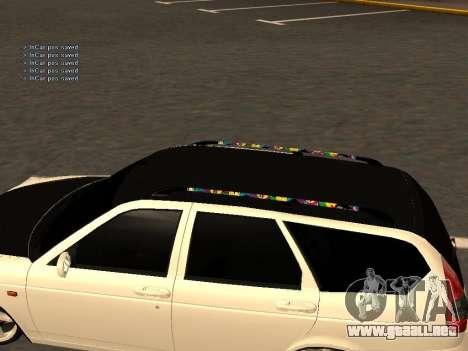 Lada Priora Hatchback para la visión correcta GTA San Andreas