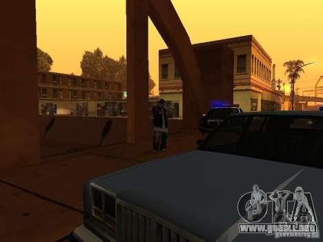 Pack Ballas Soldiaz Families V.2 para GTA San Andreas quinta pantalla