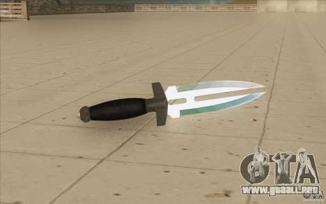 Low Chrome Weapon Pack para GTA San Andreas octavo de pantalla