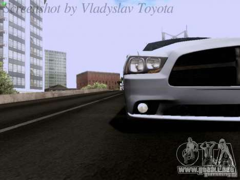 Dodge Charger 2013 para vista lateral GTA San Andreas