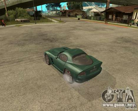 Dodge Viper Srt 10 para GTA San Andreas left