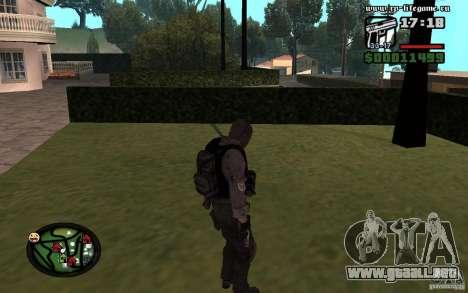 De hombres y mujeres nuevas skins para el ejérci para GTA San Andreas segunda pantalla