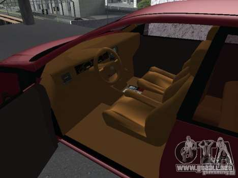 Toyota Corolla Sedan para la visión correcta GTA San Andreas