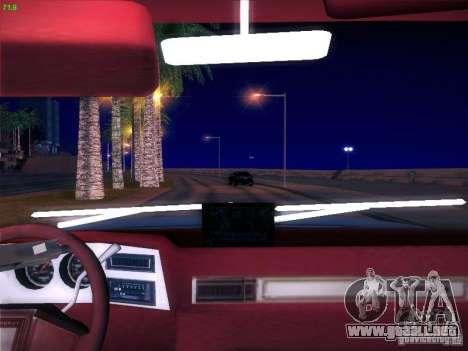 Chevrolet 350 1986 para GTA San Andreas vista posterior izquierda