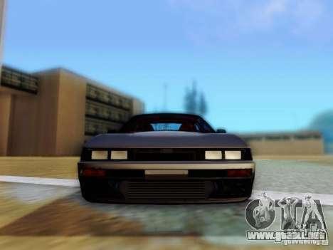Nissan S13 - Touge para GTA San Andreas vista hacia atrás