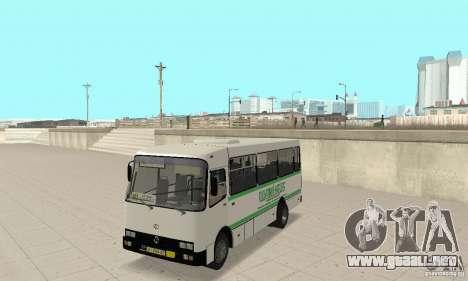 Bogdan A091 para visión interna GTA San Andreas