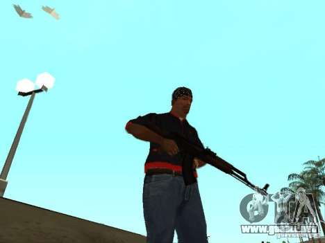 Muerte real para GTA San Andreas tercera pantalla