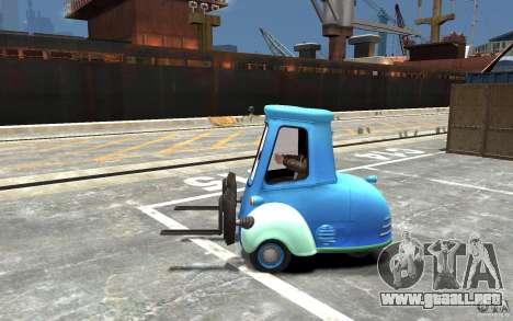 Guido de Cars Mater-National para GTA 4 left