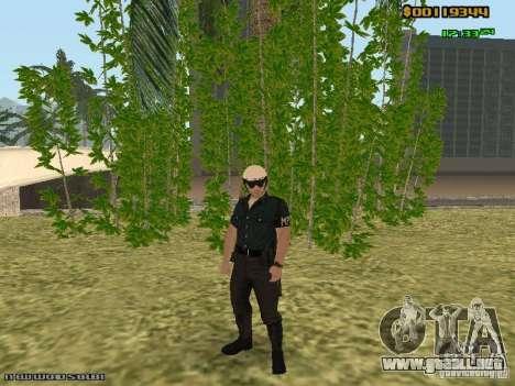 SAPD skins para GTA San Andreas quinta pantalla