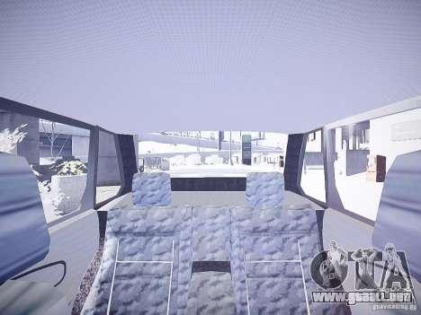 VAZ 2115 DPS para GTA 4 vista interior