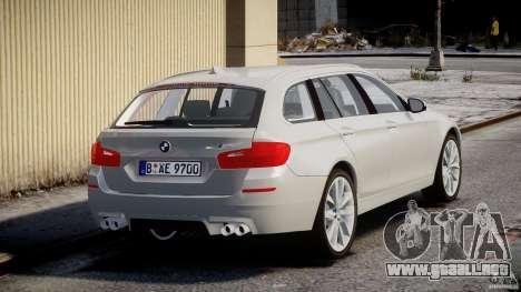 BMW M5 F11 Touring para GTA 4 vista lateral