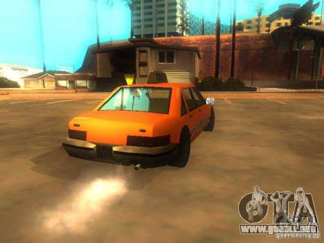 Crazy Taxi para GTA San Andreas vista posterior izquierda