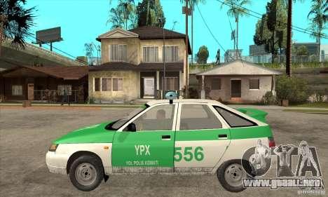 Policía YPX VAZ-2112 para GTA San Andreas left