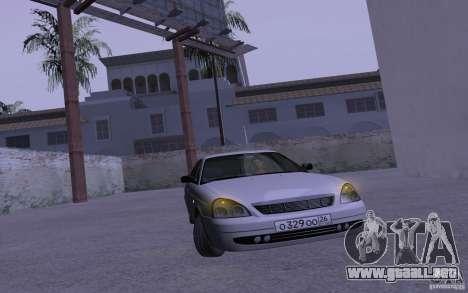LADA Priora 2170 Brend para visión interna GTA San Andreas