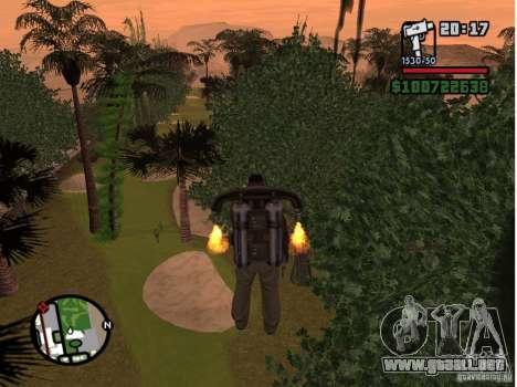 Project Oblivion 2007 para GTA San Andreas sucesivamente de pantalla