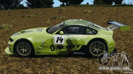 BMW Z4 M Coupe Motorsport para GTA 4 left
