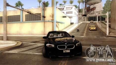 BMW M5 F10 2012 para el motor de GTA San Andreas