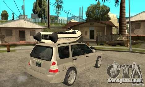 Subaru Forester para la visión correcta GTA San Andreas