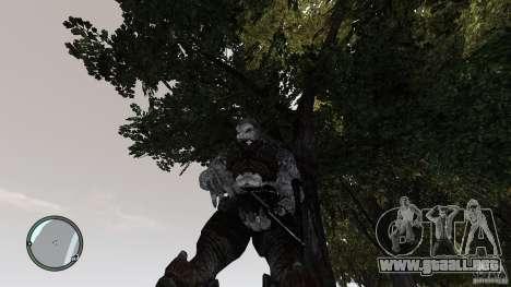 Gears Of War Grunt v1.0 para GTA 4 adelante de pantalla