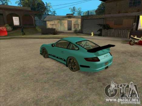 Porsche 997 GT3 RS para GTA San Andreas left