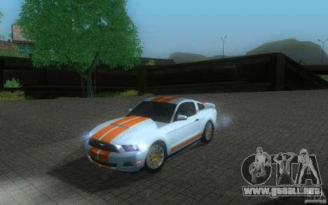 Ford Mustang GT V6 2011 para GTA San Andreas
