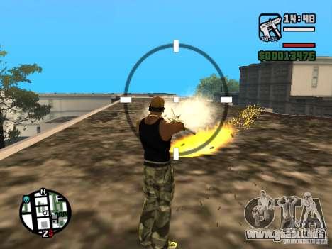 Índice del fuego para GTA San Andreas