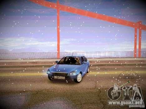 Lada Priora Turbo v2.0 para visión interna GTA San Andreas