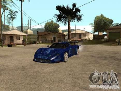 Maserati MC 12 GTrace para GTA San Andreas