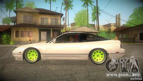 Nissan 180SX JDM para GTA San Andreas left