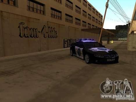 Pontiac GTO Police para GTA San Andreas left