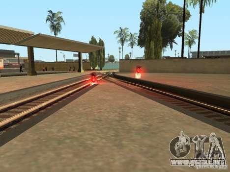 Luces de tráfico ferroviario para GTA San Andreas sexta pantalla
