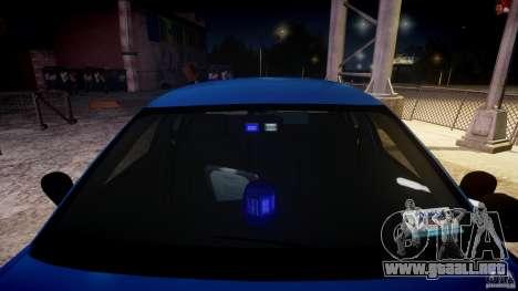 Ford Crown Victoria Detective v4.7 [ELS] para GTA 4 vista superior